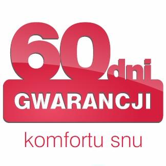 60 dni gwarancji komfortu*